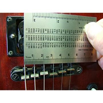5mm Ball End Guitar Truss Rod Wrench PLUS Action Gauge COMBO