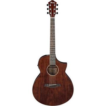 Ibanez Exotic Wood AEW40CD-NT Acoustic-Electric Guitar Natural 190839014764
