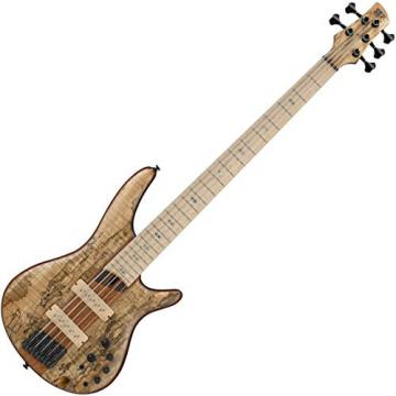 Ibanez SR5SMLTD 5-String Electric Bass Guitar Flat Natural