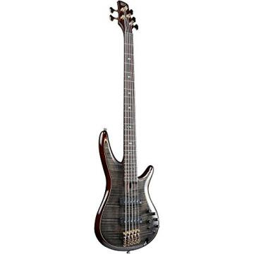 Ibanez Premium SR1405E 5-String Electric Bass Guitar Transparent Gray Black