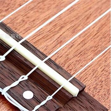 5packs Nylon Strings For Acoustic Guitar (Pack Of 4,White)