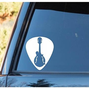 M1054 Guitar Pick Mandolin Decal Sticker