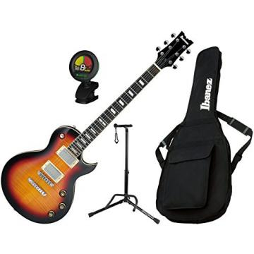 Ibanez ARZ Series ARZ200FMTFB Electric Guitar Tri Fade Burst with Gig Bag, Stand, and Tuner