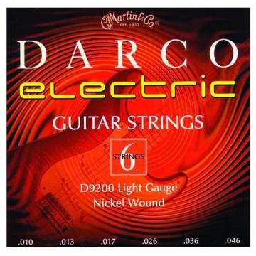 Martin D9200 Darco Electric Guitar Strings, Light
