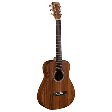 Martin LXK2 Little Martin Acoustic Guitar Bundle with Gig Bag, Tuner, 3 Packs of Strings, Austin Bazaar DVD, and Polishing Cloth