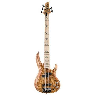 ESP LTD RB-1005SM NAT Spalted Maple  5 String Electric Bass