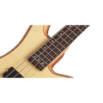 Schecter Stiletto Custom-4 Electric Bass (4 String, Natural Satin)