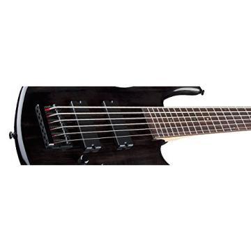 Dean Edge 6-String Bass, Trans Black