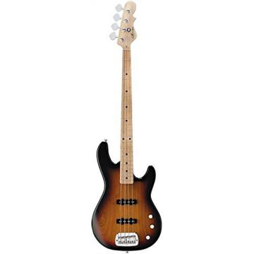 G&L Tribute JB2 4-String Electric Bass 3-Color Sunburst Maple Fretboard