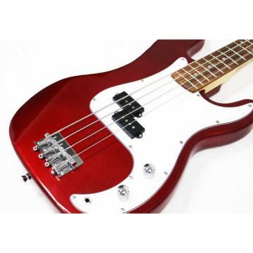 Electric Bass Guitar Starter Set, Cherry Burst
