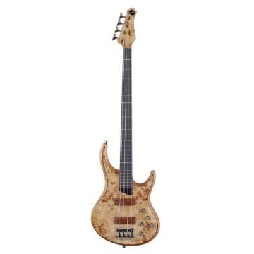 MTD Kingston Bass Guitar Z 4 String, Fretless with Lines,  Natural Gloss