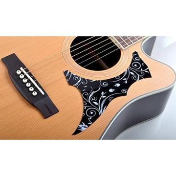 JIERUI Acoustic Guitar Pickguard Set, Self Adhesive, Pack of 6
