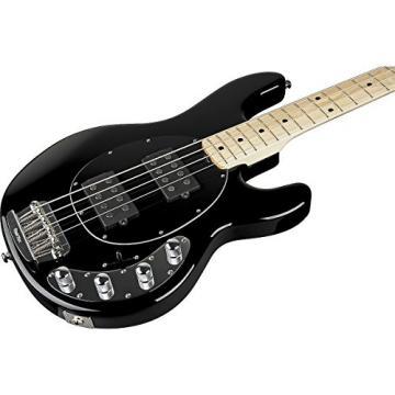 Ernie Ball Music Man StingRay HH 4-String Bass Black Maple Fretboard