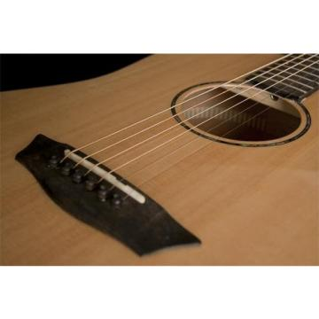 Washburn Solid Wood Series WD150SW Dreadnought Acoustic Guitar, Natural