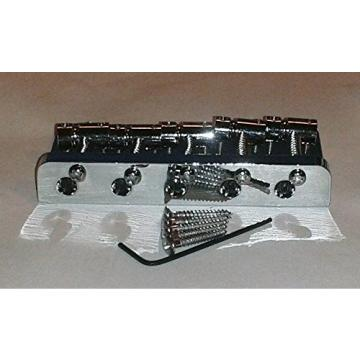 REPLACEMENT FIVE STRING BRIDGE FOR JAZZ BASS® - CHROME FINISH
