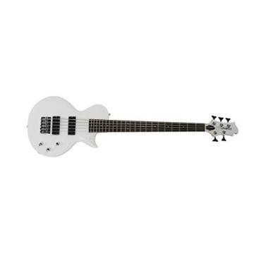 Fernandes Monterey 5 X Bass Guitar - Snow White