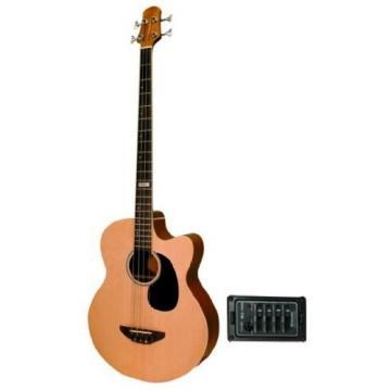 Trinity River Acoustic-Electric Bass Guitar with Spruce Top - OB3CENSZ