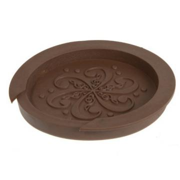 """Kingzer Sound Hole Cover Block Plug Screeching Halt for 40""""/41"""" EQ Acoustic Guitar Brown"""
