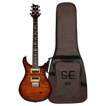 PRS Exclusive Tobacco Sunburst 2015 Limited Edition Custom SE 24 Electric Guitar