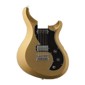 PRS V2PB05_EC S2 Vela Electric Guitar, Egyptian Gold Metallic with Bird Inlays & Gig Bag