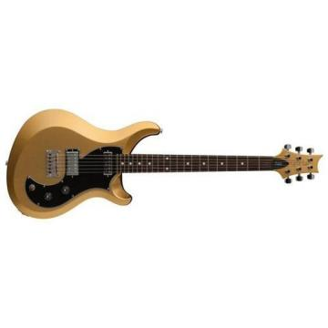 PRS V2PD05_EC S2 Vela Electric Guitar, Egyptian Gold Metallic with Dot Inlays & Gig Bag