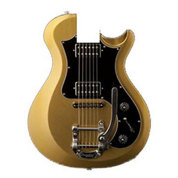 PRS D4TB04_EC S2 Standard 24 Electric Guitar, Egyptian Gold Metallic with Bird Inlays & Gig Bag