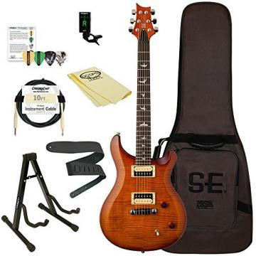 PRS CM2VS-KIT-1 SE Custom 22 Electric Guitar with ChromaCast Accessories, Vintage Sunburst