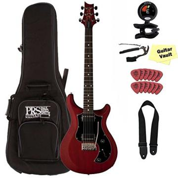 PRS S2 Standard 22 Satin with Dots, Vintage Cherry Guitar