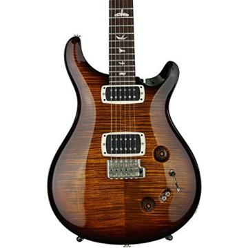 PRS 408, 10-Top - Black Gold Burst, Pattern Neck