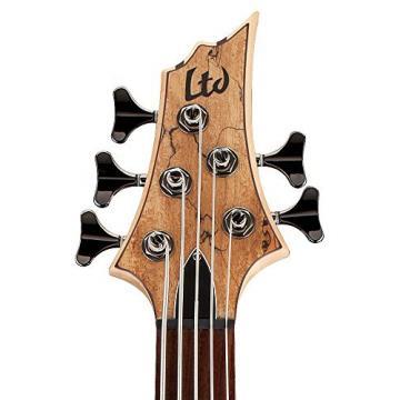 ESP LTD B Series B-205 Five-String Bass Guitar - Natural Satin