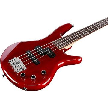 Ibanez GSRM20 Mikro Short-Scale Bass Guitar Transparent Red Rosewood