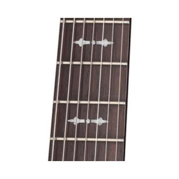 Schecter OMEN-7 7-String Electric Guitar, Black