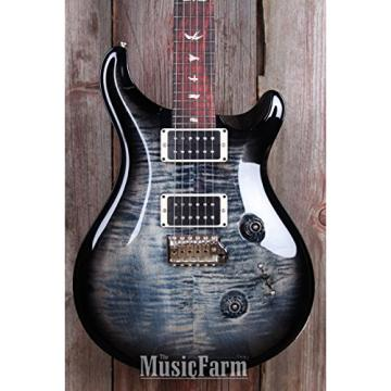 PRS Custom 24, Pattern Regular Neck, Custom Color - Black Gold Smokewrap