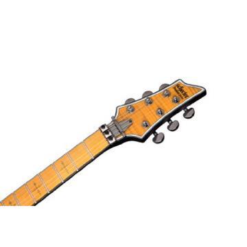 Schecter Hellraiser C-1FR Extreme Left Handed 6-String Electric Guitar, Crimson Red Burst Satin