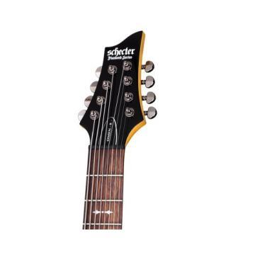 Schecter OMEN-8 8-String Electric Guitar, Black