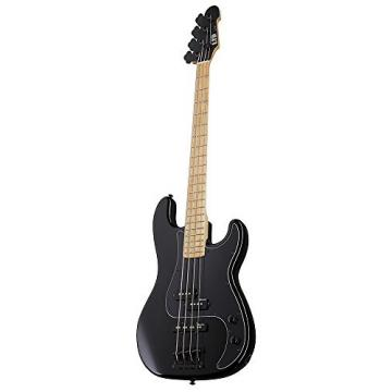 ESP Artist Series LGCP4BLK 4-String Bass Guitar, Black