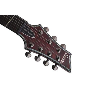 Schecter Hellraiser C-7 7-StringElectric Guitar (Black Cherry)