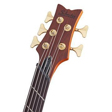 Schecter 2794 5-String Bass Guitar, Honey Satin