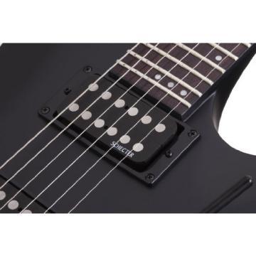 Schecter 406 Stealth C-1 FR SBK Electric Guitars