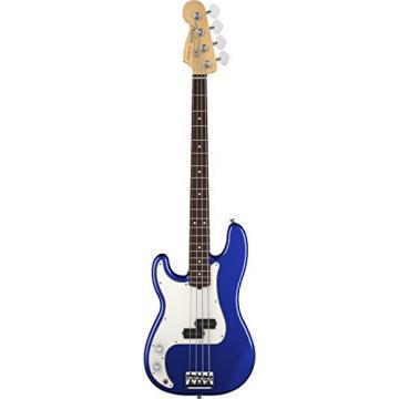 Fender American Standard Precision Bass Guitar ,Left Handed,  Rosewood Fingerboard, Mystic Blue