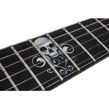 Schecter Blackjack Slim Line Series C-1 6-String Electric Guitar, See-Thru Blue Burst, with Passive Pickups