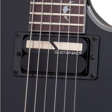 Schecter Damien Platinum 6 Floyd Rose-Sustainiac  Satin Black