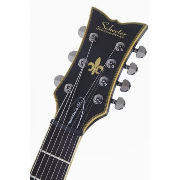Schecter BLACKJACK ATX SOLO-7 Special Edition 6-String Electric Guitar, Aged Black Satin