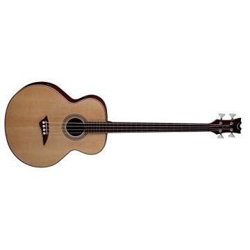 Dean EAB FL Acoustic-Electric Bass Fretless Guitar with Satin Finish, Right Handed