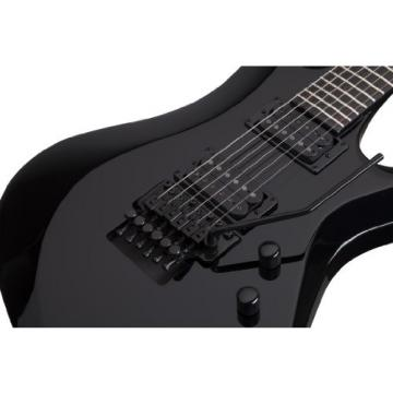Schecter 2156 Blackjack Avenger-6 FR BLK Electric Guitars