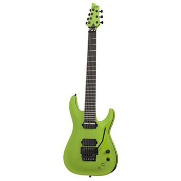 Schecter Keith Merrow KM-7 FR-S 7-String Solid-Body Electric Guitar, Lambo Green