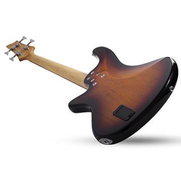 Schecter 2524 4-String Bass Guitar, 3-Tone Sunburst