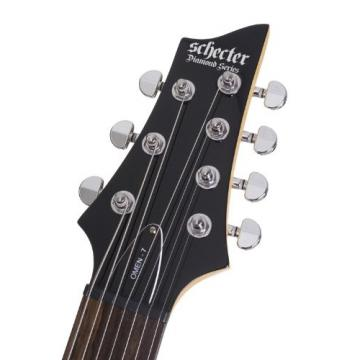 Schecter Omen-7 7-String Electric Guitar (Gloss Black)