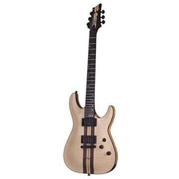 Schecter C-1 40th Anniversary Model Solid-Body Electric Guitar, NATP FM