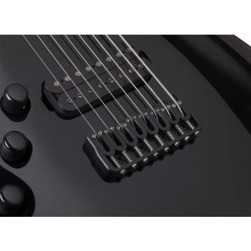 Schecter 2165 Blackjack C-8 BLK Left Handed Electric Guitars